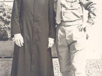 Achille Piardi e don Andrea Gozio, 30 ago. 1968. Gussago