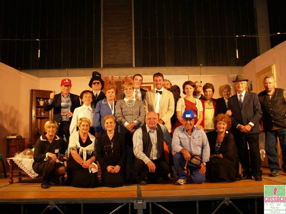 Fotogallery rassegna di teatro dialettale nelle frazioni - Croce 2013