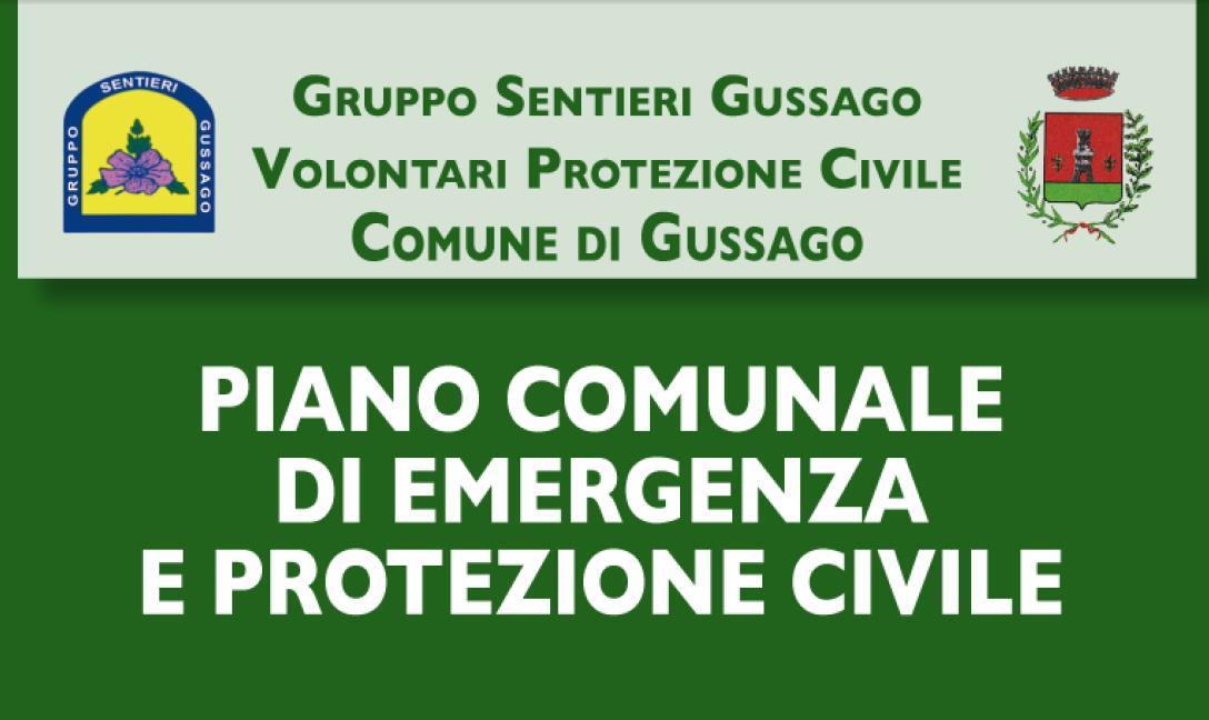 Piano emergenza protezione civile Gussago