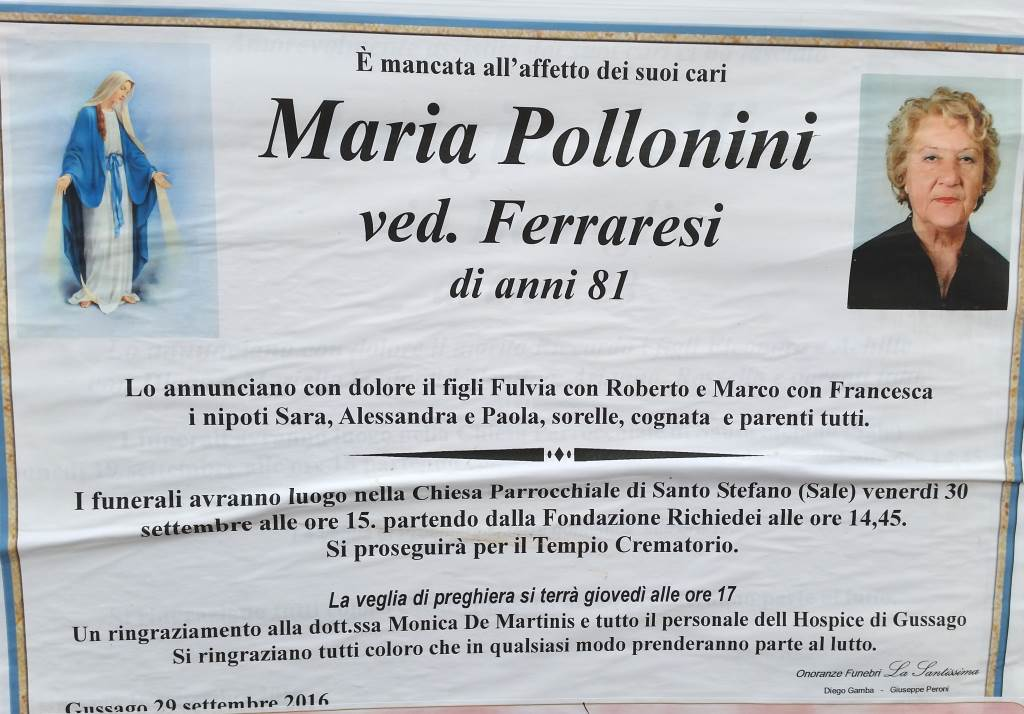 Maria Pollonini ved  Ferraresi - Gussago News
