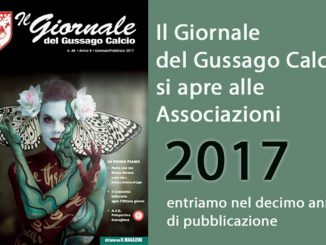 Giornale Gussago Calcio gennaio-febbraio 2017