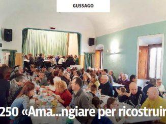 Pranzo solidale Ronco febbraio 2017