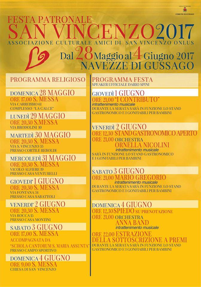 Festa patronale San Vincenzo 2017