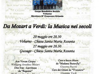 """Concerto """"Da Mozart a Verdi: la Musica nei Secoli"""" maggio 2017"""