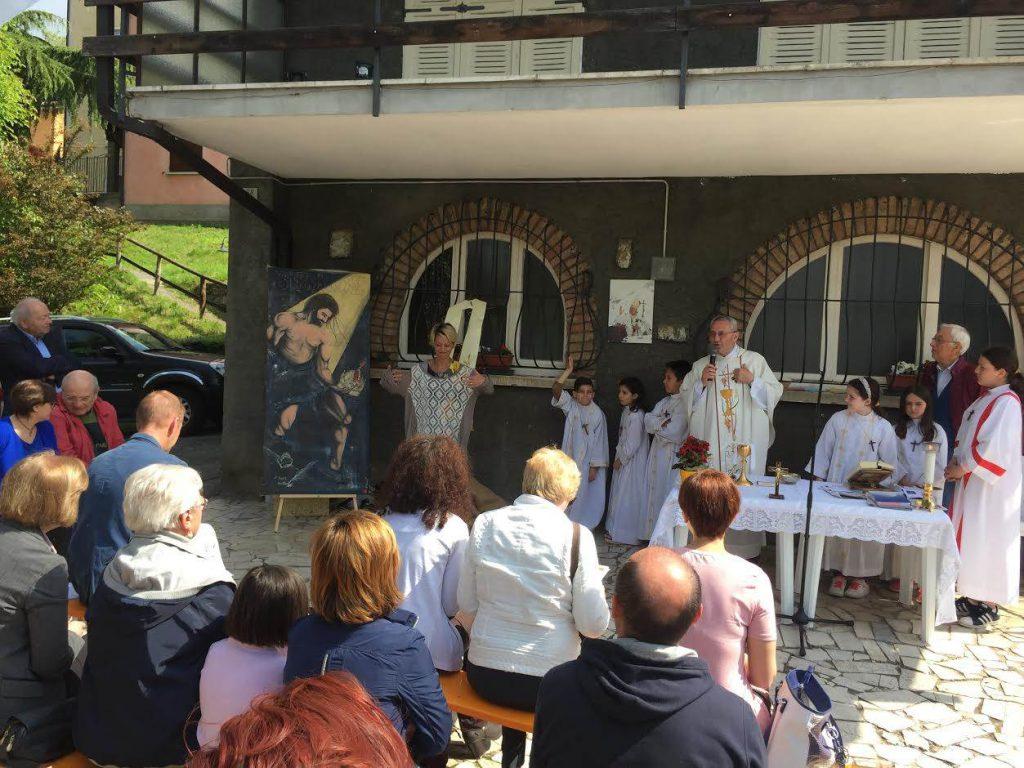 Quadro San Girolamo Civine Francesca Adamo 2017