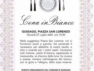Cena in bianco 2017