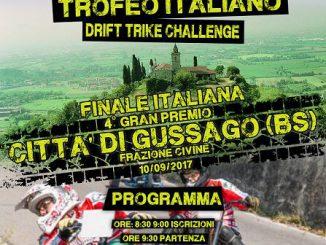 Drift Trike finale campionato italiano Civine settembre 2017