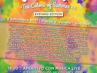 The Run - The Color of Summer 4.0 settembre 2017