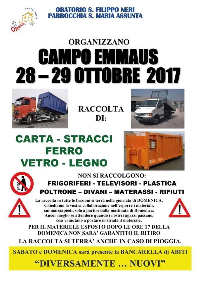 Campo Emmaus ottobre 2017