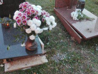Danneggiamento cimitero novembre 2017