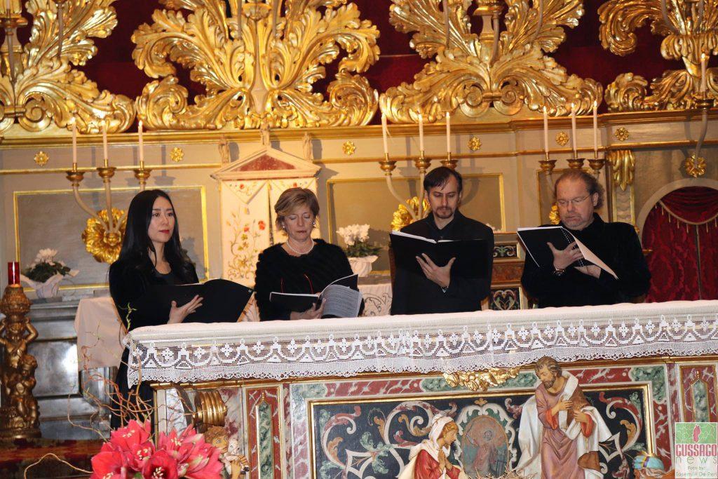 "Fotogallery ""Concerto Epifania ensemble vocale Soli Deo Gloria"" gennaio 2018"