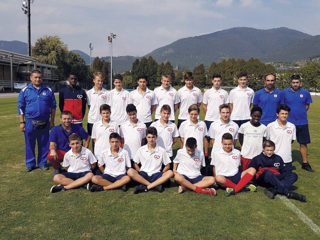 Squadra Giovanissimi Gussago Calcio, stagione 2017-2018