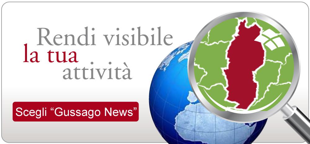 Fai pubblicità su Gussago News