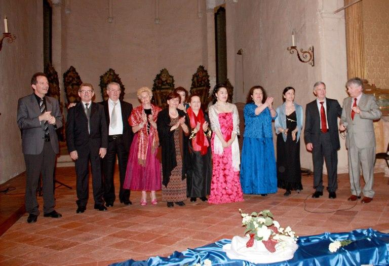 Fotografia d'archivio di un evento del circolo LIRICArte
