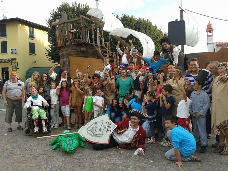 La contrada di Sale vince il Palio alla Festa dell'uva 2013