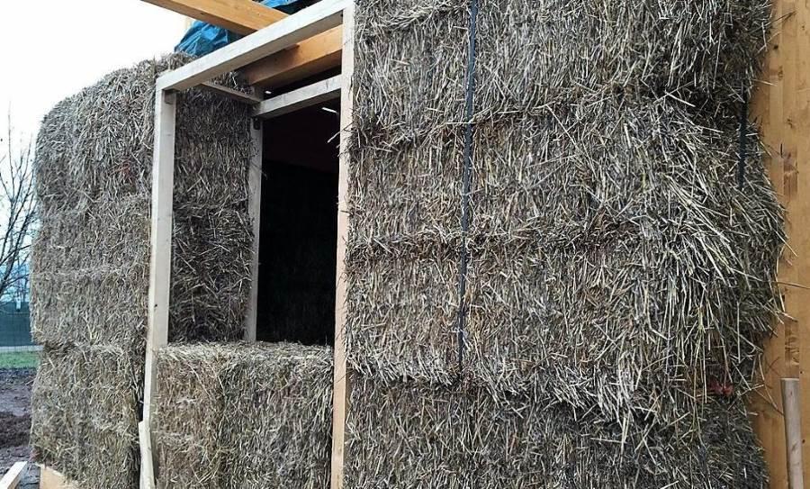 Paglia e argilla la casa green gussago news for Piani di garage di balle di paglia