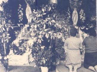 Devozione a Maria Navezze anni 50
