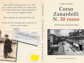 "Libro ""Corso Zanardelli N. 30 rosso"" De Santis"