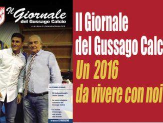 Banner Giornale Gussago Calcio 44 ottobre 2016
