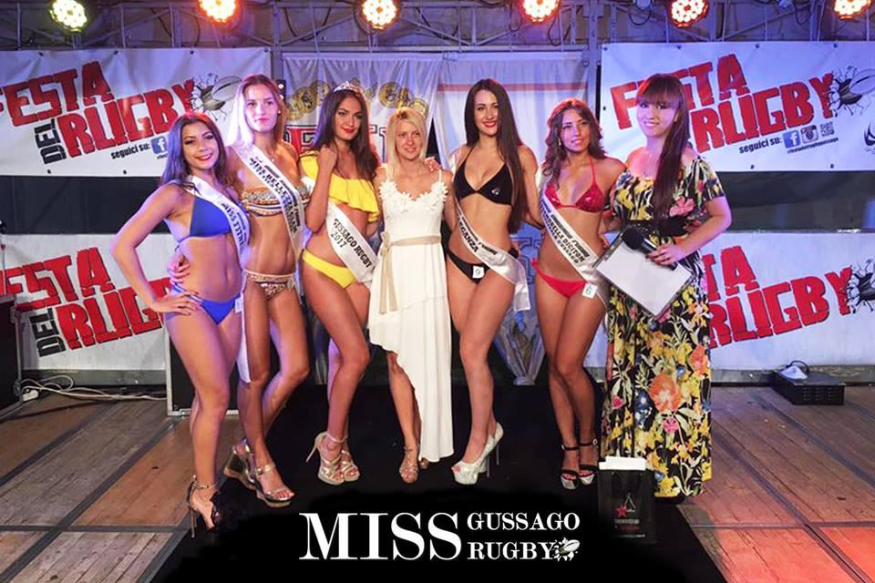 Sara Simonetti Miss Gussago Rugby luglio 2017