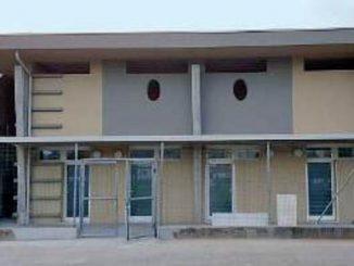 Spogliatoi nuovi centro Corcione ottobre 2017