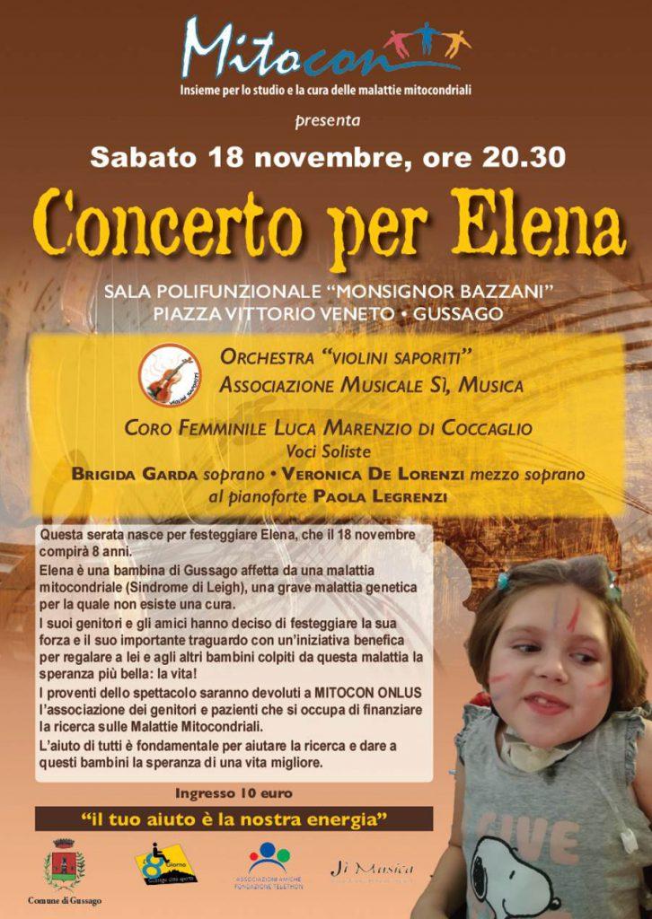 Concerto per Elena novembre 2017