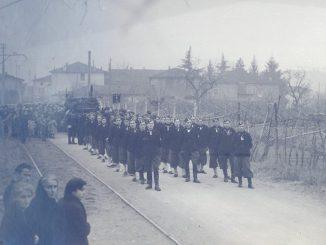 Fotogallery funerali sciagura aviatoria cielo Lucca nel 1939