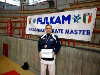 Campione italiano karate Master maggio 2018