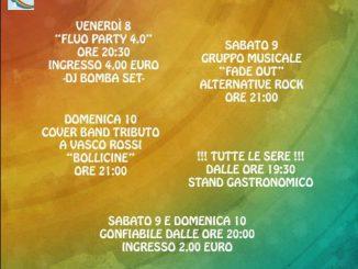 Festa oratorio Ronco giugno 2018
