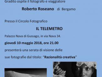 Telemetro serata con Roseano maggio 2018