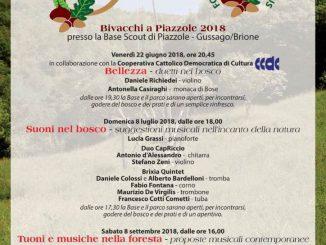 Bivacchi a Piazzole 2018