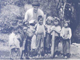 Padre Piero Maria Bonometti Laos anni 60