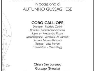 Concerto Calliope Armonie settembre 2018
