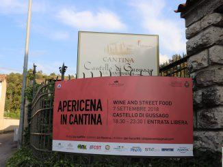 """Autunno a Gussago 2018: Fotogallery """"Dalla Cantina alla Vigna - Apericena in Cantina"""" settembre 2018"""