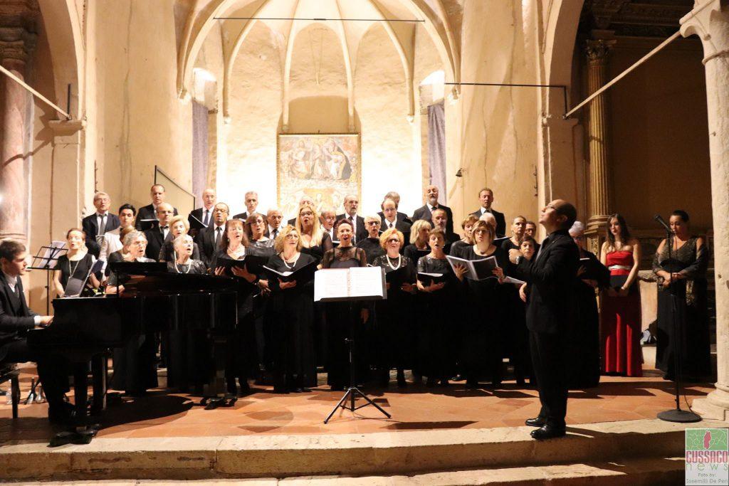 Fotogallery concerto Coro Calliope Armonie settembre 2018