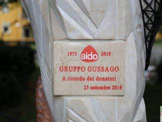 Fotogallery inaugurazione monumento parco AIDO settembre 2018