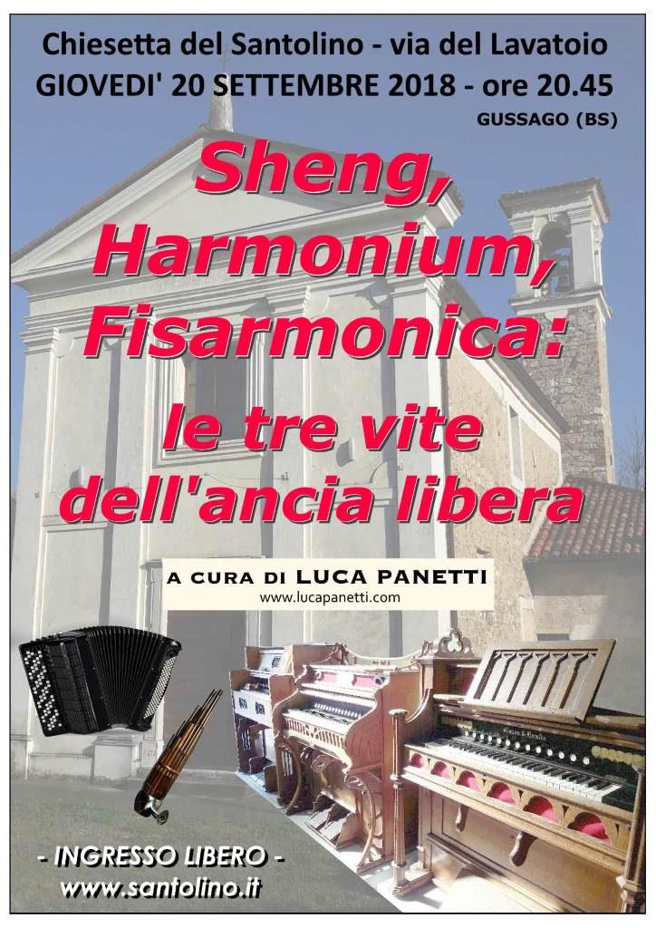 Sheng Harmonium Fisarmonica settembre 2018