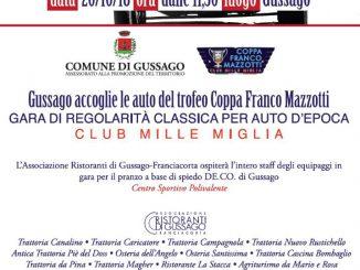 Coppa Mazzotti ottobre 2018