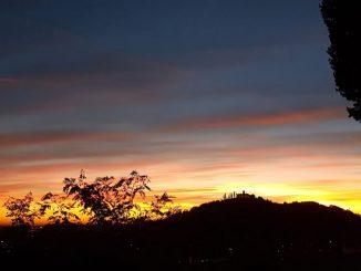 Santissima tramonto ottobre 2018