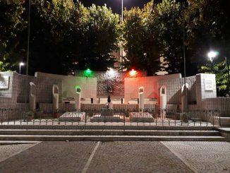 Tricolore monumento Caduti ottobre 2018