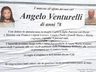 Necrologio Angelo Venturelli 2019