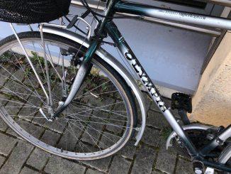 Bicicletta ritrovata marzo 2019