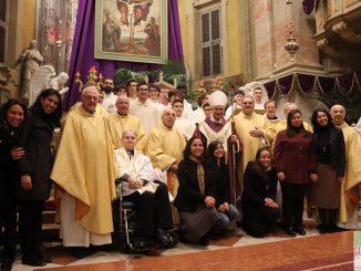 """Fotogallery """"Visita del vescovo Mons. Pierantonio Tremolada"""", marzo 2019"""