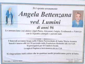 Necrologio Angela Bettenzana 2019