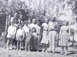 Piozzini in Argentina fine anni 50