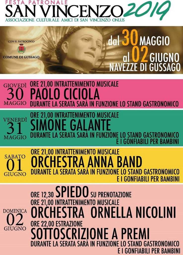 Festa San Vincenzo 2019