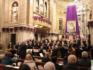 Fotogallery concerto Canti Sacri preparazione Pasqua aprile 2019