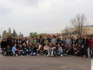 Fotogallery visita ragazzi college francese scuola Venturelli aprile 2019