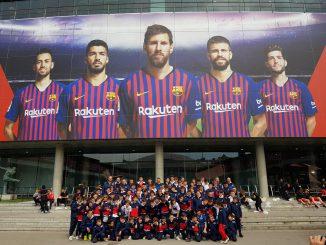 Gussago Calcio Copa Jordi Spagna aprile 2019