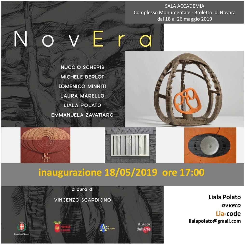 "Mostra ""NovEra"" Novara Polato maggio 2019"